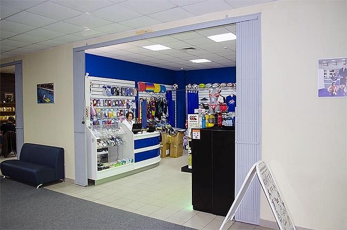 Магазин товаров для плавания Вольный стиль в ФОК Салют в городе Долгопрудный