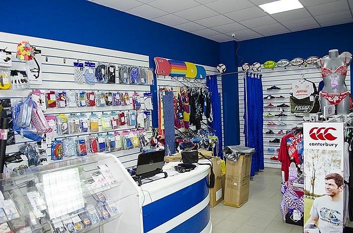 Магазин товаров для плавания Вольный стиль в ФОК Салют, город Долгопрудный