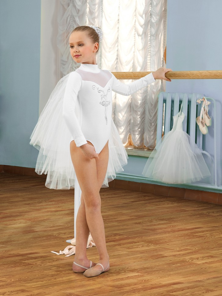 балерина в белом трусы - 12
