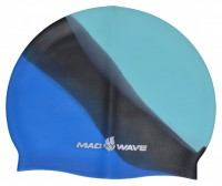 Шапочка для плавания Mad Wave Multi Adult Big