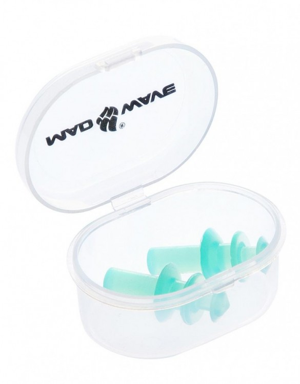 Беруши плунжерные для плавания Mad Wave Ear Plugs
