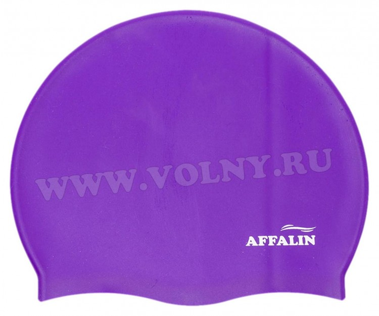Шапочка для плавания Affalin Standart silicon