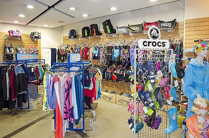 Магазин товаров для плавания Вольный стиль в ТК СПОРТ ХИТ-1
